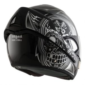 shark-helmets-evoline-series-3-mezcal-chrome-black-silver-HE9348KUK-back-open