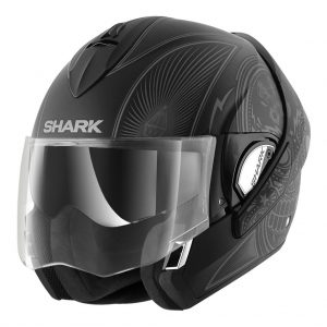 shark-helmets-evoline-series-3-mezcal-matte-black-HE9347KAS-face-open