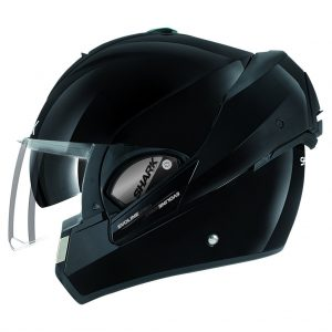 shark-helmets-evoline-series-3-uni-black-HE9350BLK-side-left-open